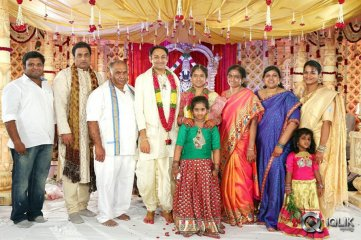 BVSN Prasad Daughter Marriage Photos