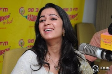 Charmi at Radio Mirchi