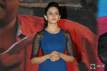 Rakul Preet Singh at Pyaar Mein Padipoyane Audio Launch