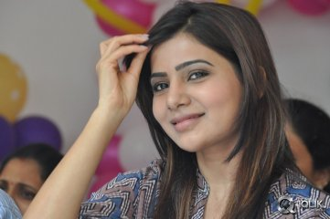 Samantha at Bellamkonda Suresh Birthday Celebrations