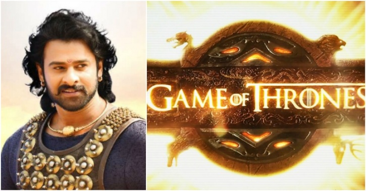 bahubali 2 prabhas and game of thrones connection