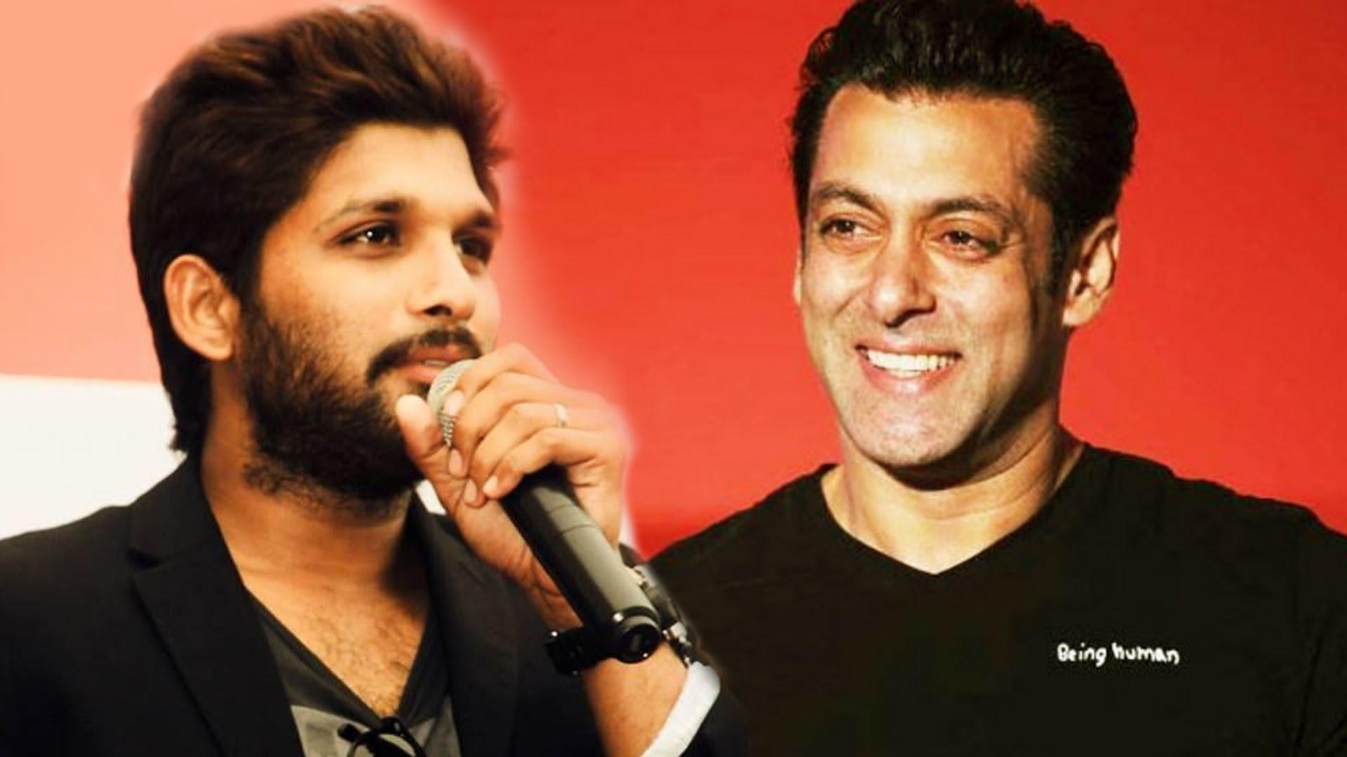 Allu Arjun is ready to take on Salman Khan
