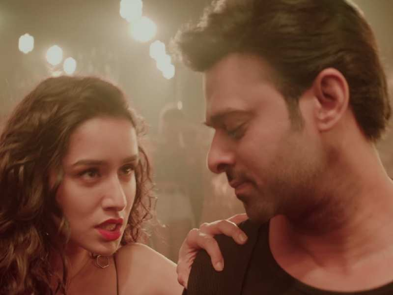 Shraddha Kapoor and Prabhas in 'Psycho Saiyaan from Saaho teaser