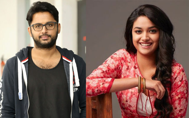 Keerthy Suresh wishes good luck to Nithin ahead of Check release