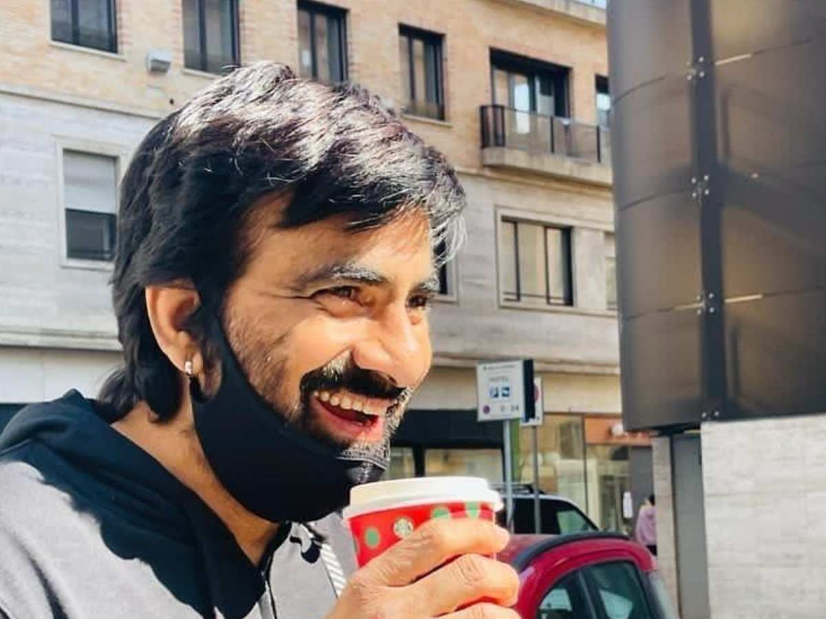Ravi Teja shooting in Italy