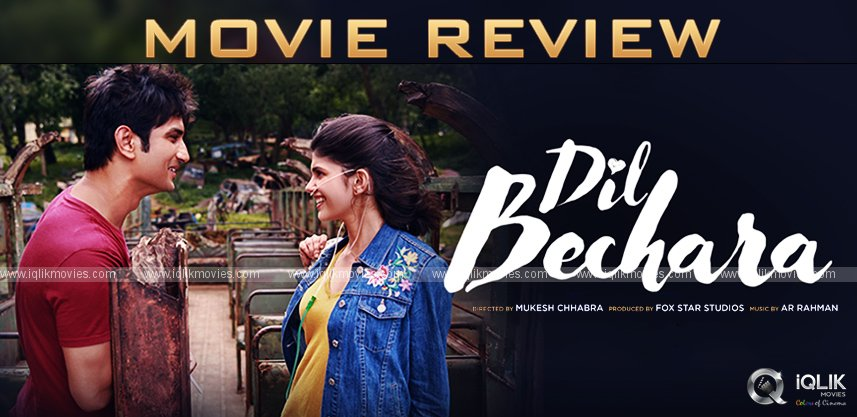 Dil Bechara Review & Rating