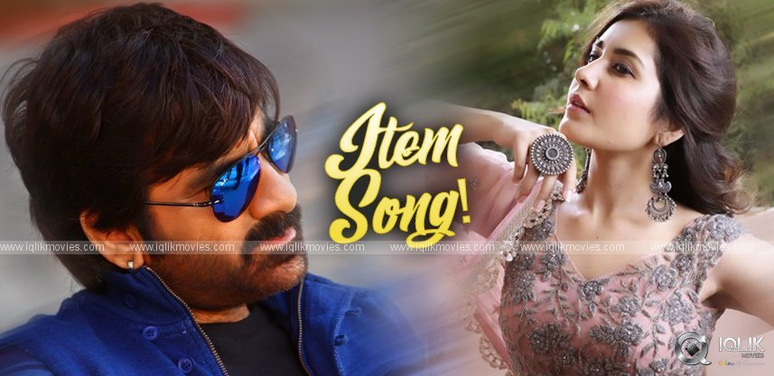 raashi-khanna-item-song-ravi-teja-ravi-varma-movie