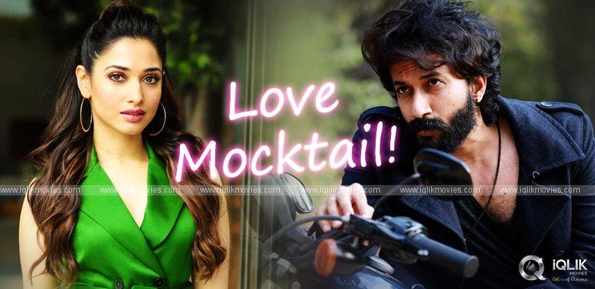 satyadev-tamannah-in-kannada-film-love-mocktail-remake