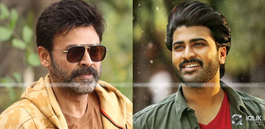 Sharwanand To Replace Venkatesh In Shelved Project?