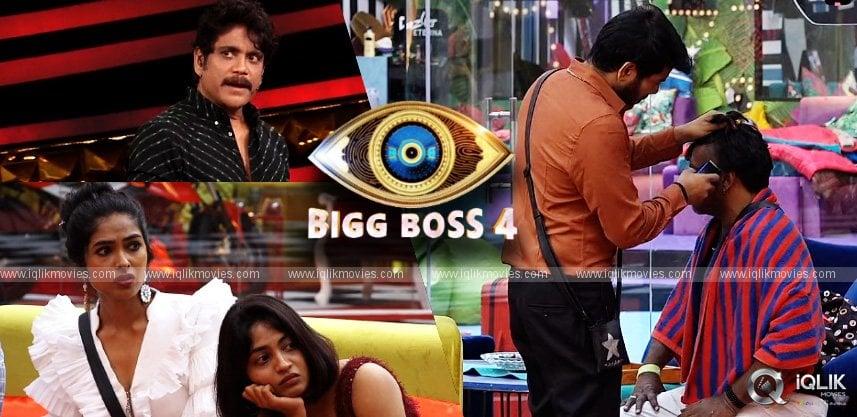bigg-boss-telugu-4-episode-42-amma-rajasekhar-half-shaved-his-head-beard