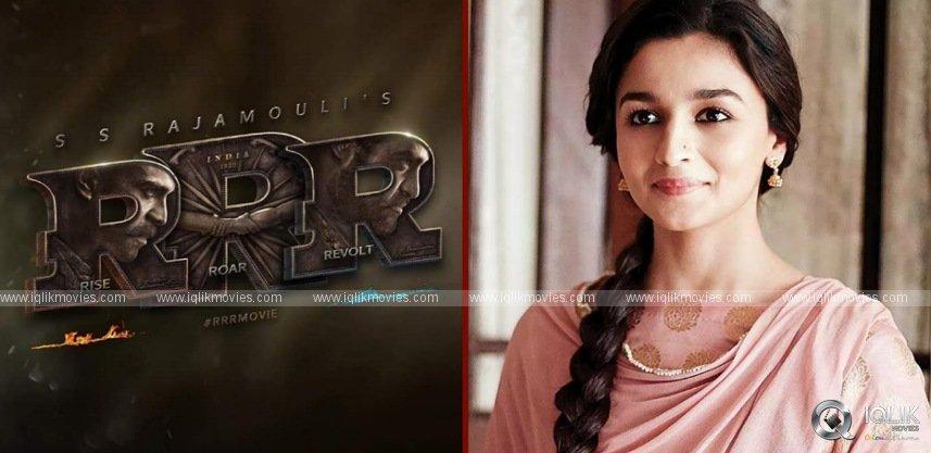 Alia Bhatt Joins RRR In November!