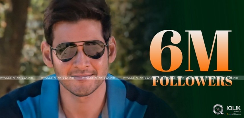 Superstar Mahesh Joins 6 Million Club On Instagram!