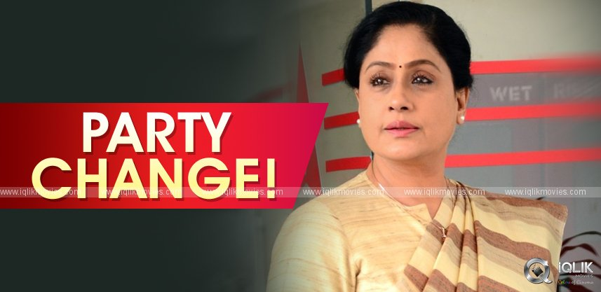 vijayashanthi-quits-congress-to-join-bjp-tomorrow