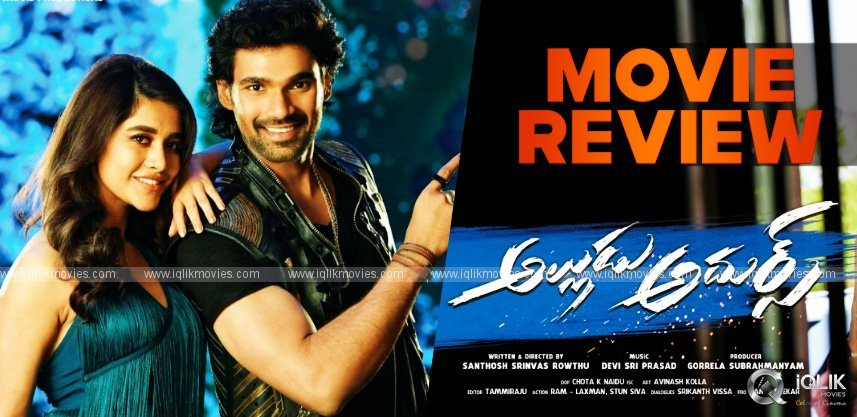 Alludu Adhurs Movie Review and Rating