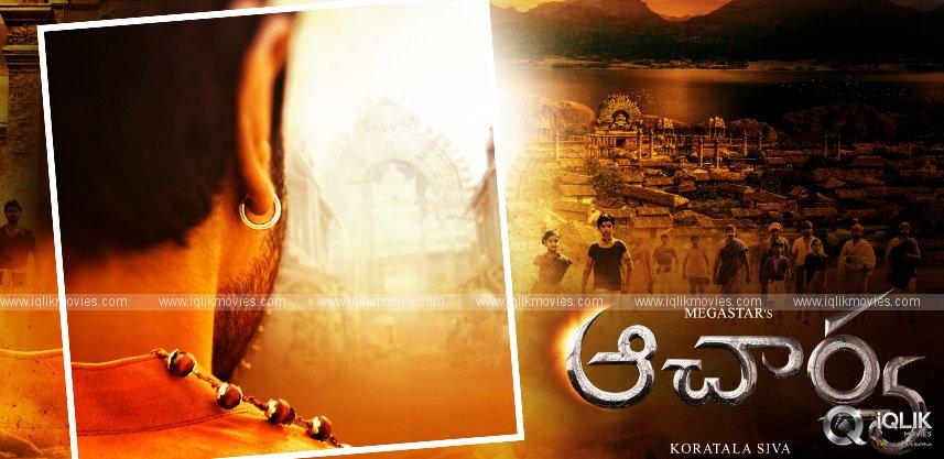 Ram Charan in and as Siddha in Acharya