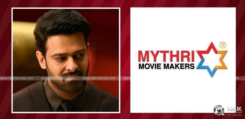 Mythri plans 'Costly Project' in Prabhas' career