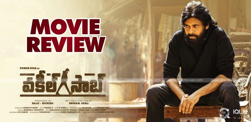 Vakeel Saab Movie Review and Rating