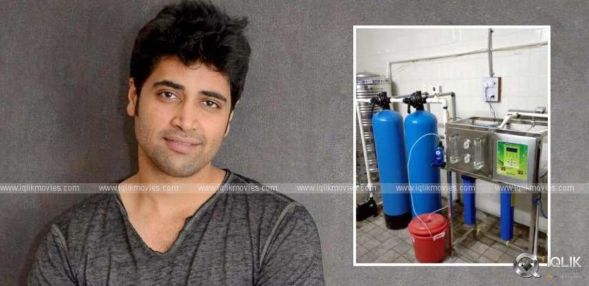 adivi-sesh-installed-a-water-purification-system-for-koti-govt-hospital