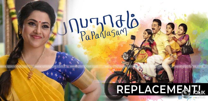 meena-for-papanasham-sequel-instead-of-gautami