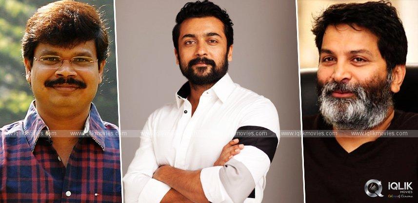 After Boyapati, Suriya to work with Trivikram?