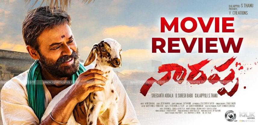 Narappa Movie Review and Rating