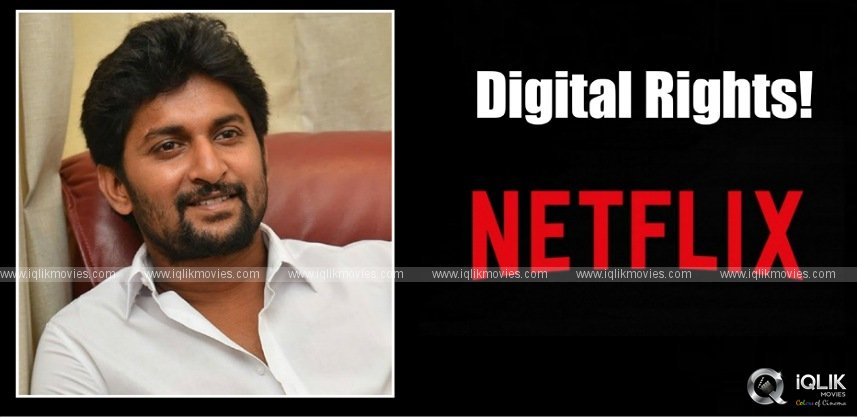 Netflix bags the rights of Nani's next