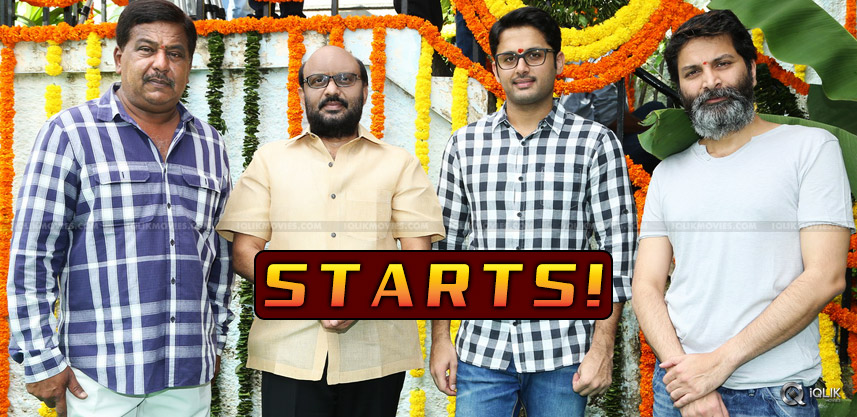 trivikram-nithiin-movie-a-aa-starts