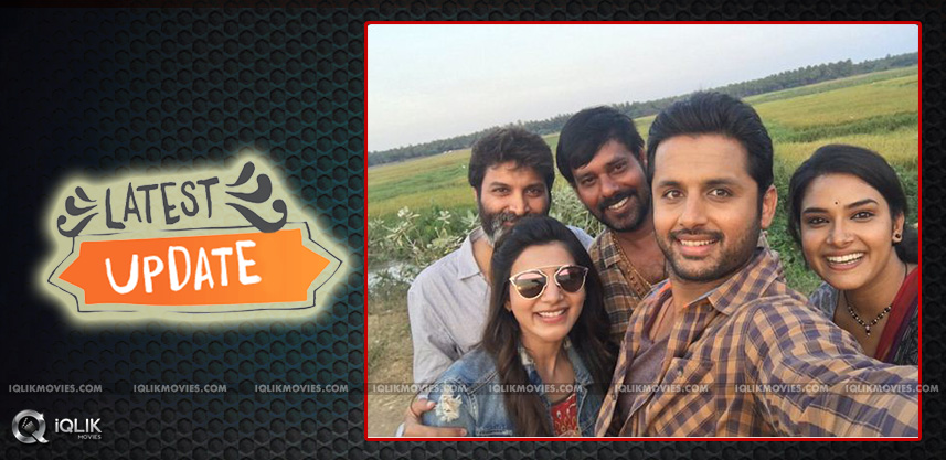 nithiin-samantha-a-aa-movie-shooting-updates
