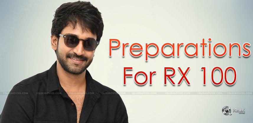 aadhi-pinisetty-rx-100-movie-preparations