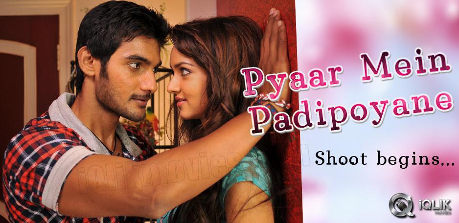 Aadi-starts-shooting-for-039-Pyaar-Mein-Padipoyane