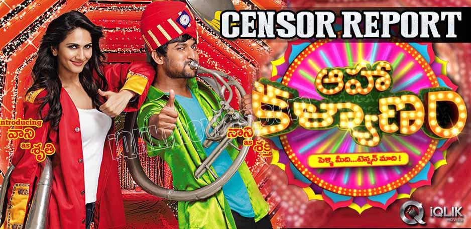Aaha-Kalyanam-censor-report