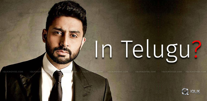 abhishek-bachchan-keen-to-do-telugu-movie