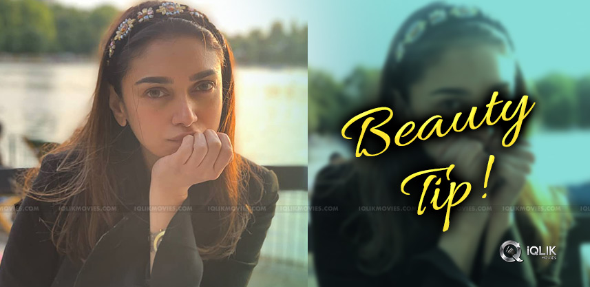 sammohanam-star-aditi-rao-beauty-tips