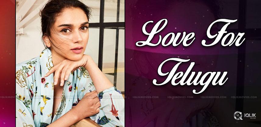 Bollywood Heroine's Love For Telugu