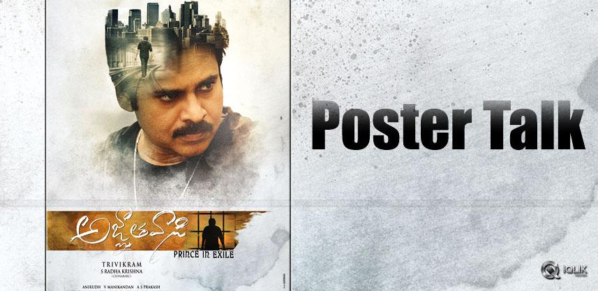 agnyathavasi-poster-talk-us-theaters