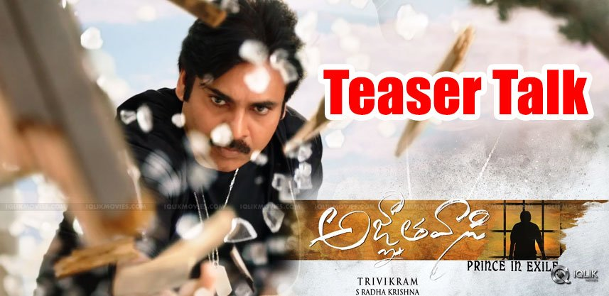 Agnyathavasi-teaser-talk-