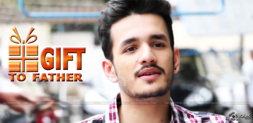 akhil-akkineni-debut-movie-first-look-details