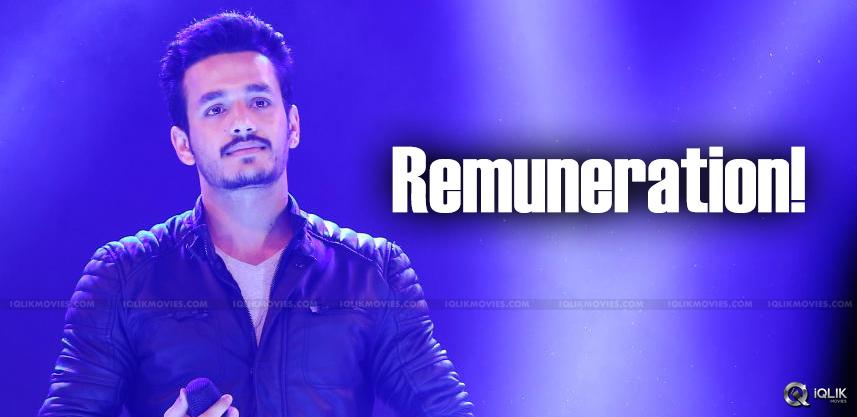 akhil-remuneration-for-his-debut-film