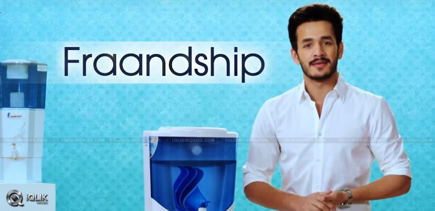 akhil-promotes-shresht-water-purifiers