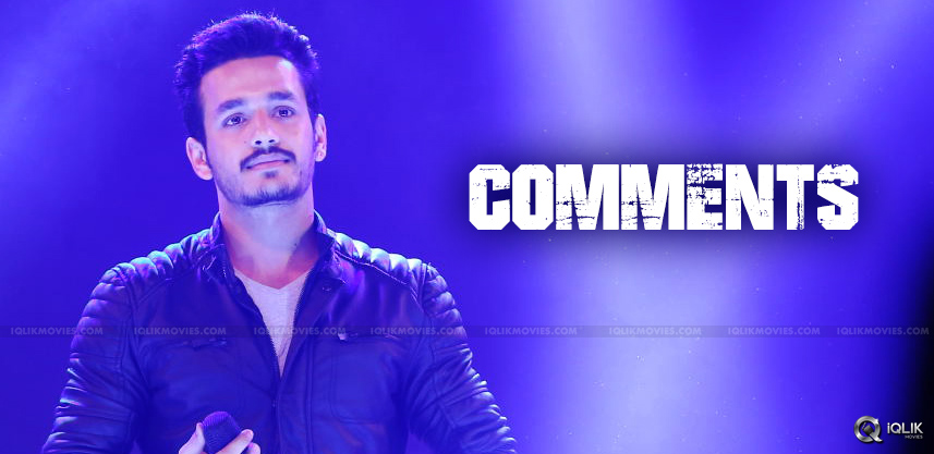 akhil-comments-on-various-heroines