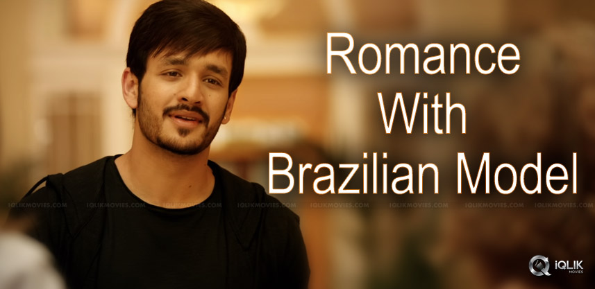 akhil-romance-with-brazilian-girl-for-majnu
