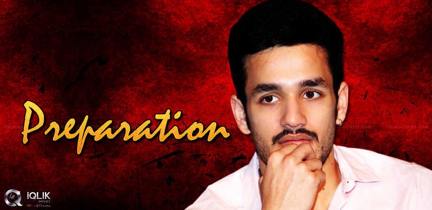 akhil-akkineni-working-on-histrionics