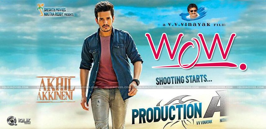 akhil-akkineni-debut-production-debut-first-look