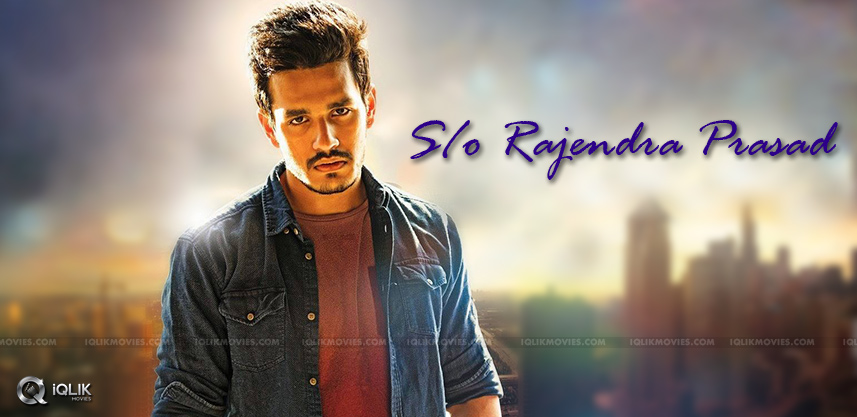 rajendra-prasad-playing-as-father-to-akhil