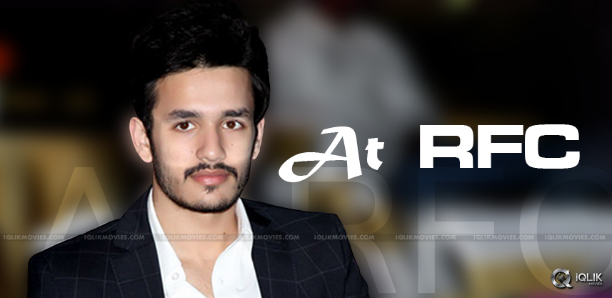 akhil-new-movie-shooting-at-ramoji-film-city