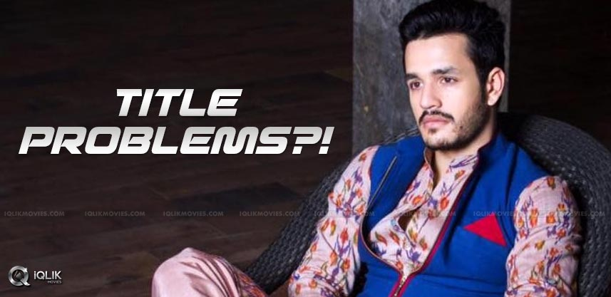 akhil-second-film-title-under-discussion