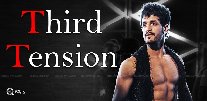 akhil-akkineni-third-movie-tension