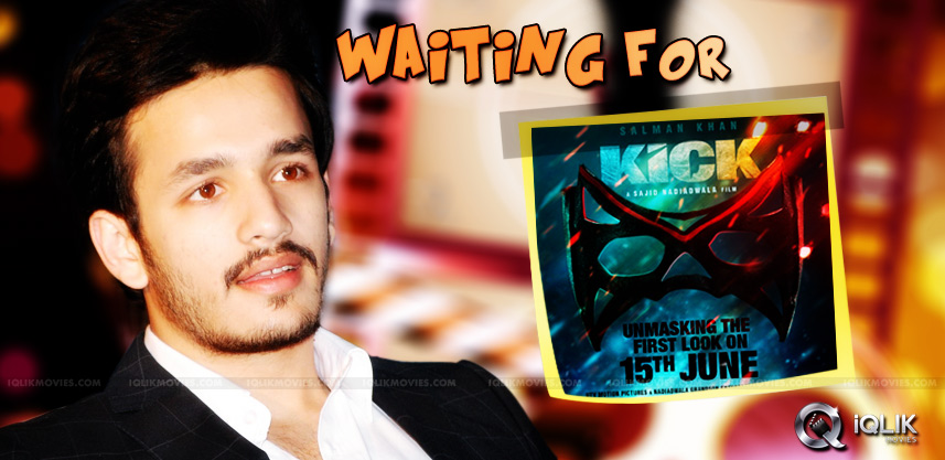 akkineni-akhil-waiting-for-release-of-hindi-kick