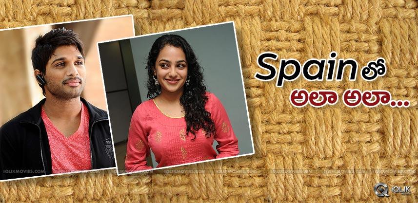 allu-arjun-trivikram-movie-shoot-in-spain