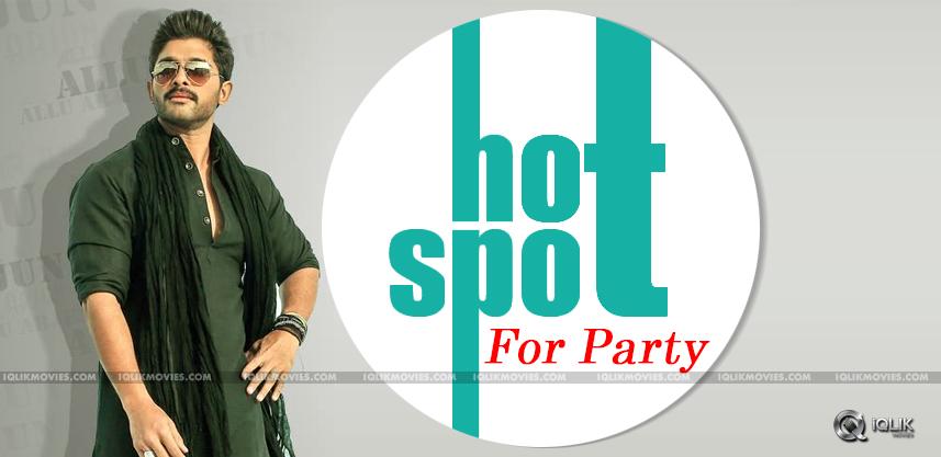 allu-arjun-opens-new-party-club-in-hyderabad